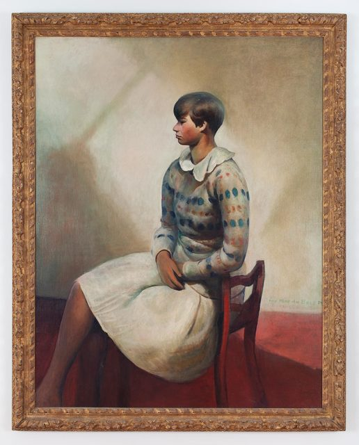 , 'Portrait of Yvonne in Camp Chair,' 1931/32, Allan Stone Projects