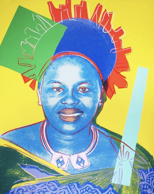 , 'Andy Warhol, Queen Ntombi Twala of Swaziland,' 1985, Shapero Modern