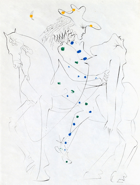 ", 'Ronsard ""Picasso's Horse"",' , Russell Collection"