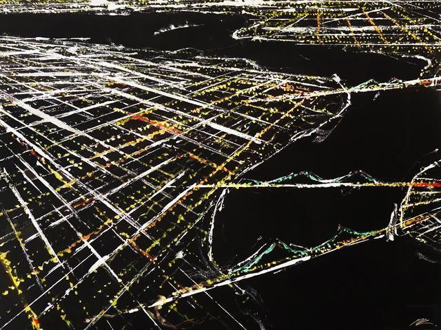 Pete Kasprzak, 'Lower East Side Aerial 2', 2017, Artspace Warehouse
