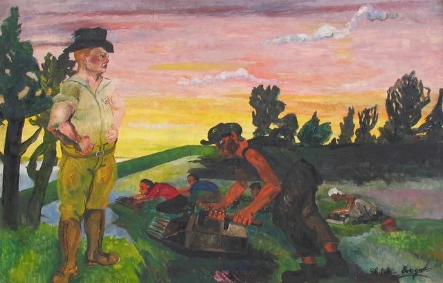Philip Evergood, 'Eat More Cranberries', ca. 1938, Caldwell Gallery Hudson
