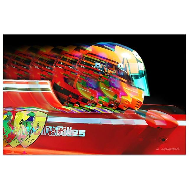 Andrew Barber, 'Gilles Villeneuve Ferrari Formula 1 | Automotive | Car', 2019, Whyte Fine Art