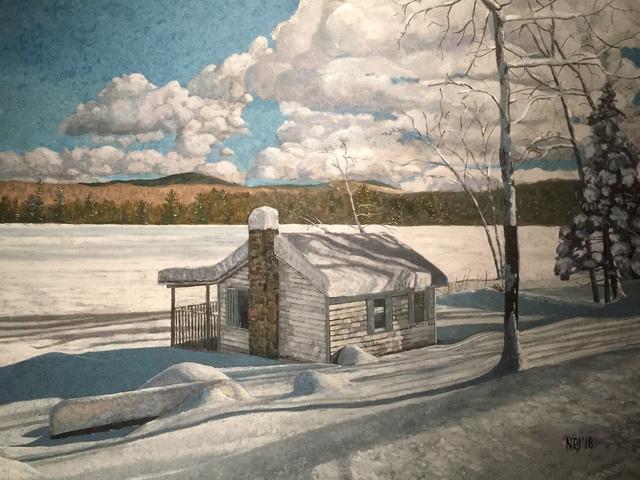 , 'Reservoir Pond-January ,' 2019, Copley Society of Art