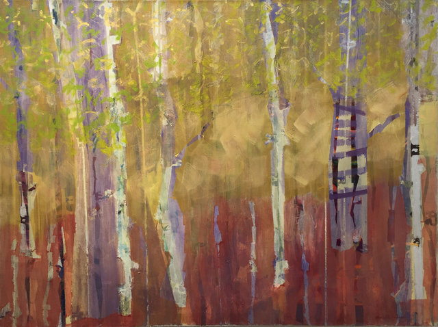 , 'Treehouse in the Birches,' 2015, Sorelle Gallery Fine Art