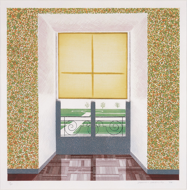 , 'Contrejour in the French Style,' 1974, Sims Reed Gallery