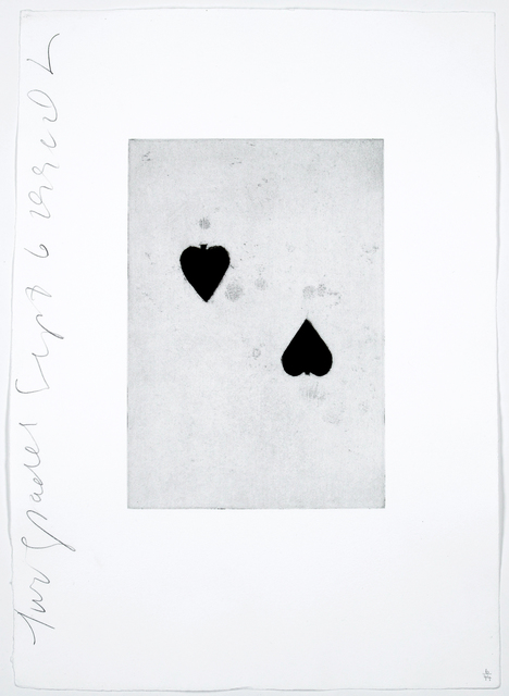 Donald Sultan, 'Two Spades', 1990, Chelsea Art Group