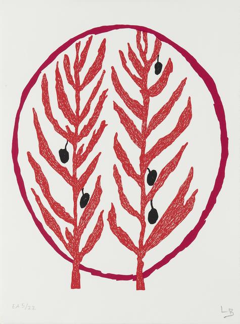 , 'Branche d'olivier II,' 2002, Galerie Lelong & Co.