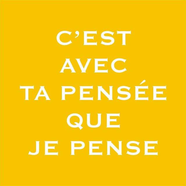 """, '""""C' est avec ta pensée que je pense"""",' 2003-2005, PALMADOTZE"""