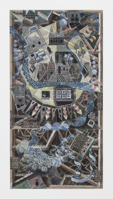 , 'Map 2,' 2017, Sundaram Tagore Gallery
