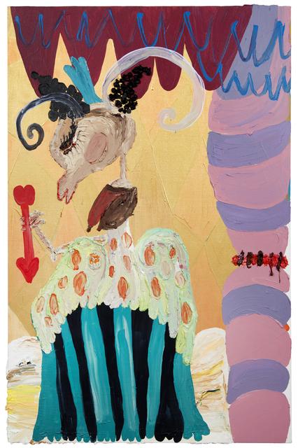 , 'Ritual Beija-mão, A Ira [Hand-kissing Ritual, The Anger],' 2015, Galeria Aura