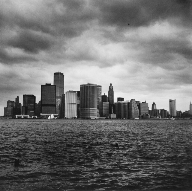 Peter Hujar, 'Lower Manhattan from the Harbor', 1976, Photography, Gelatin-silver print, Fraenkel Gallery