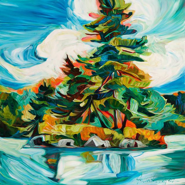 , 'Swirl,' 2018, Petroff Gallery