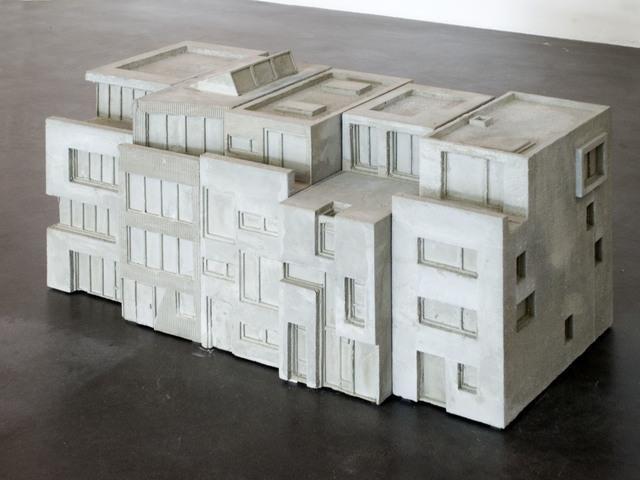 , 'Townhouses Mauerstreifen,' 2010, Hammelehle und Ahrens