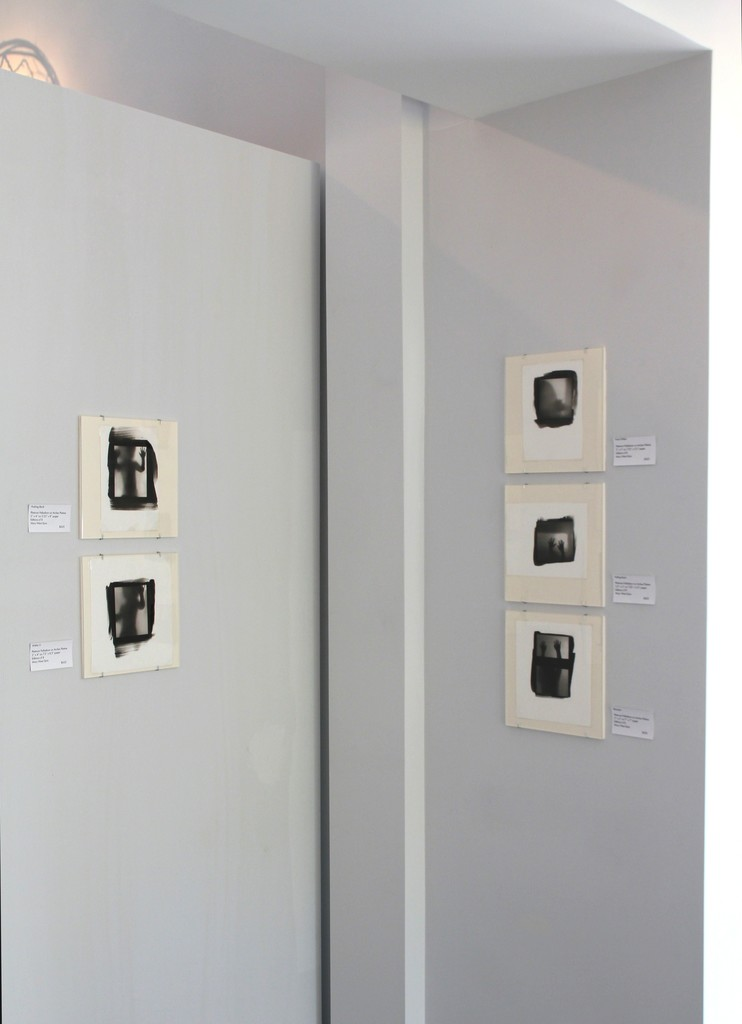 Left to Right: Platinum Palladium Prints on Arches Platine, Mary West Quin