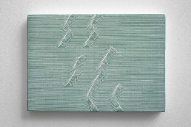 , 'Long Ending (green),' 2017, Bartha Contemporary