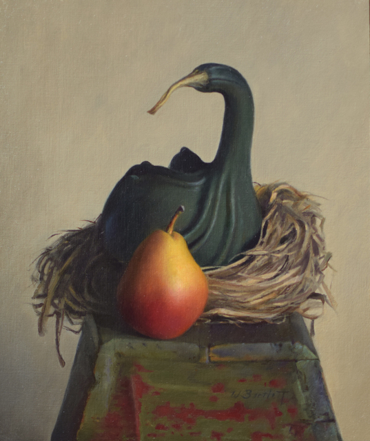 William Bartlett, 'Curious Pair', 2021, Painting, Oil, The Guild of Boston Artists