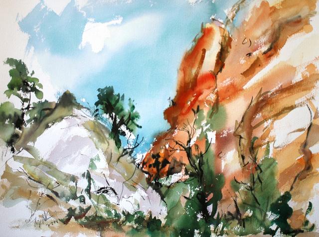 , 'Cedar Mesa,' 2000, C. Grimaldis Gallery