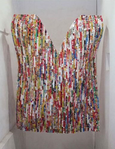 , 'Huipil Fronterismo,' 2012, Disruptive Canvas