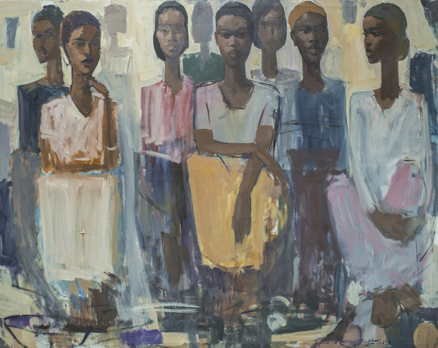 , 'Pillars of Life: Strength ,' 2018, Addis Fine Art