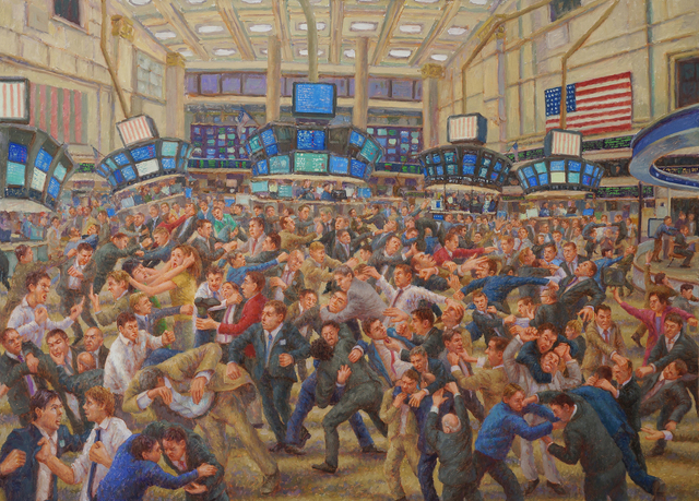, 'Stock Exchange,' 2015, 532 Gallery Thomas Jaeckel