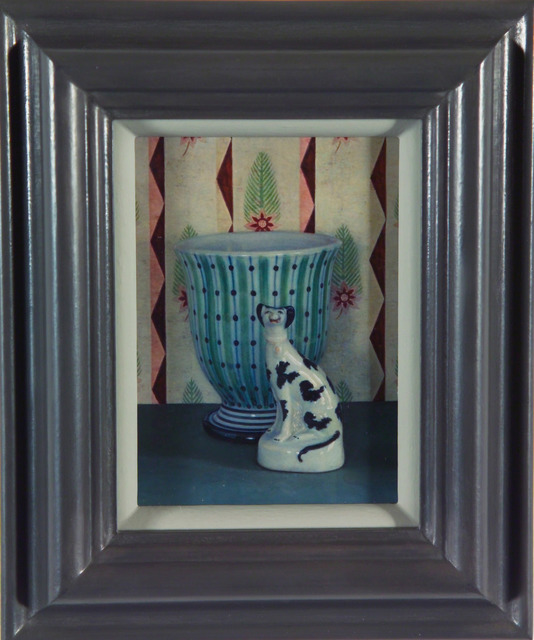 Lucy Mackenzie, 'China Dog with Rye Vase', 2006, Nancy Hoffman Gallery