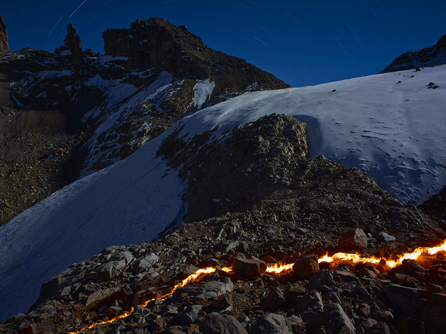 Simon Norfolk, 'The Lewis Glacier, Mt. Kenya, 2004 (B),' 2014, Benrubi Gallery