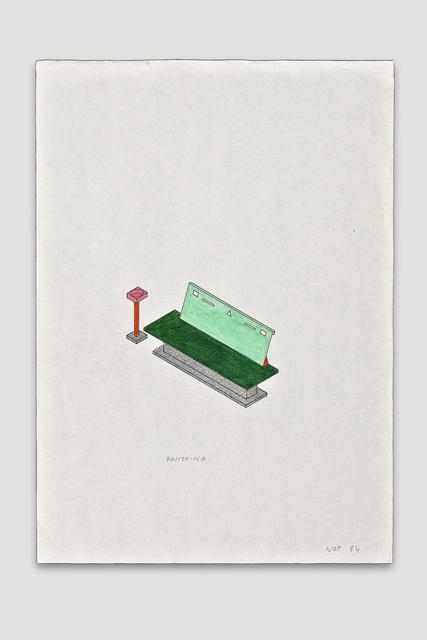 , 'Panchina,' 1984, The Modern Archive