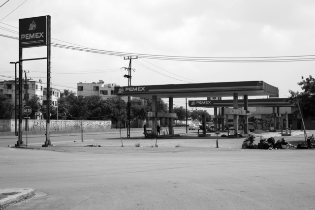 , '26 Used to be Gasoline Stations (Av. Eugenio Garza Sada, Monterrey NL),' 2007-2015, Machete