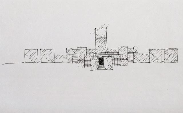 , 'Gebäude ev. Lintschinger (Building),' 1960, Edward Cella Art and Architecture