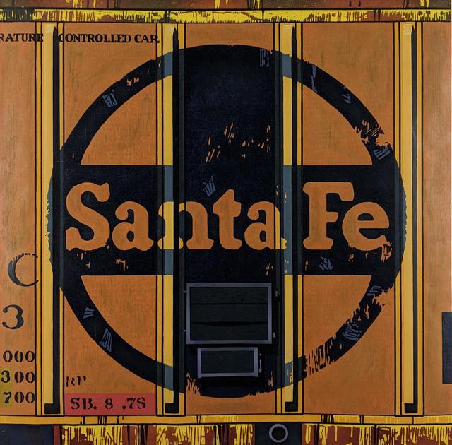 Robert Cottingham, 'Santa Fe', 1988, Capsule Gallery Auction