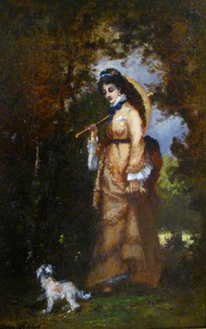 , 'Woman with Parasol,' , Daphne Alazraki Fine Art