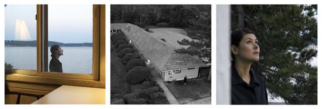 Barbara Probst, 'Exposure #123.10, Greenport, N.Y., Silversands Motel, 1400 Silvermere Road, 06.12.17, 8:27 pm', 2017, Photography, Ultrachrome ink on cotton paper, Kuckei + Kuckei