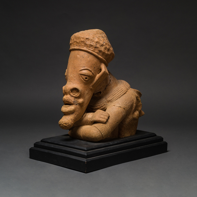Unknown African, 'Monumental Nok Terracotta Head and Torso', 400 BC to 400 AD, Barakat Gallery