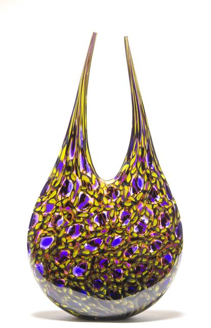 , 'Hyacinth Chimera,' 2018, Ignite Glass Studio