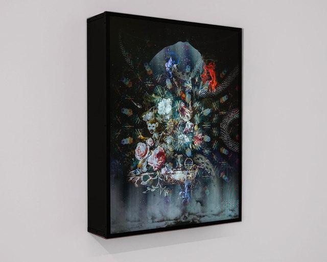 Olivia Steele, 'Third Eye Activation Portal (Lenticular Light Box)', 2017, Photography, Lenticular acrylic laminated print light box, MAIA Contemporary