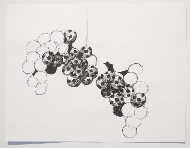 , 'Silent Drawing (obverse & Reverse 4),' 2010, Josée Bienvenu