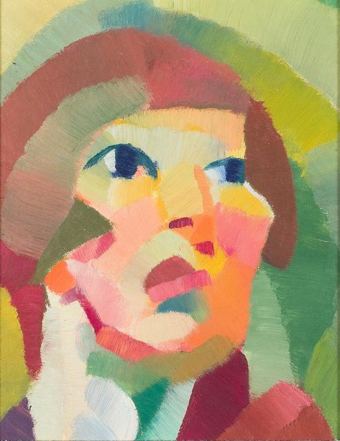 , 'Portrait,' 1920, Tina Keng Gallery