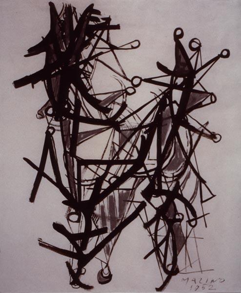 Marino Marini, 'Cavallo e cavaliere (Horse and rider)', 1952, Studio Guastalla