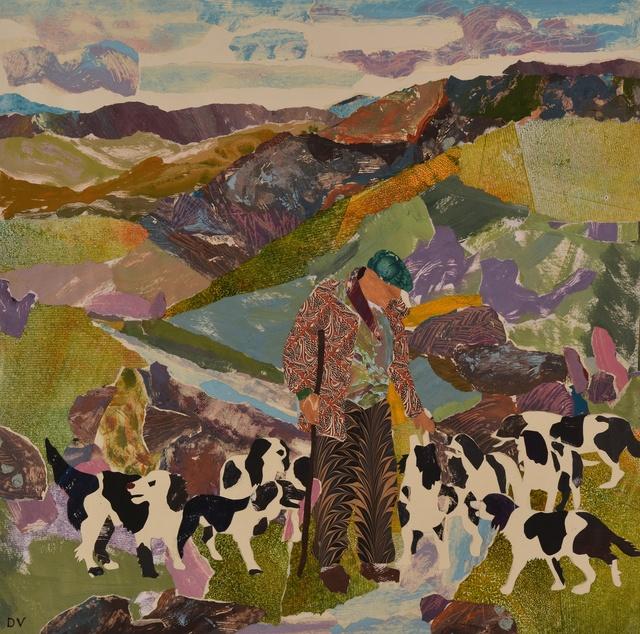 , 'High Ground at Reeth,' 2014, Rebecca Hossack Art Gallery