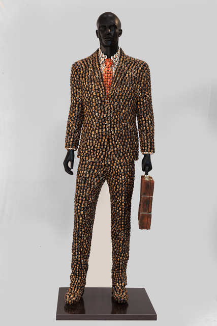 , 'Man with brickcase,' 2015, Opera Gallery