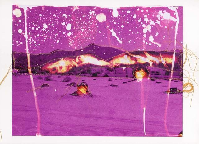 Andrew K. Thompson, 'Untitled (Purple Landscape)', 2015, Alan Klotz Gallery