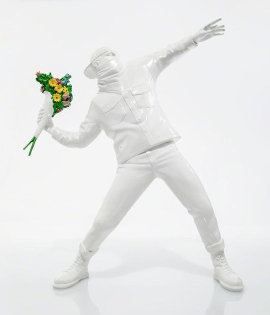 Banksy, 'Flower Bomber (White)', 2016, The Art Design Project