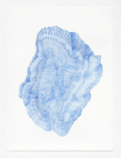 , 'Zigzags #11,' 2018, Muriel Guépin Gallery