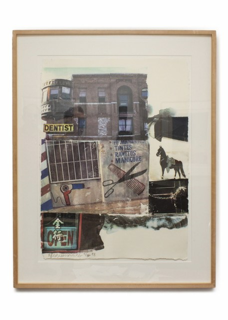 Robert Rauschenberg, 'LA Uncovered #10', 1998, Cerbera Gallery