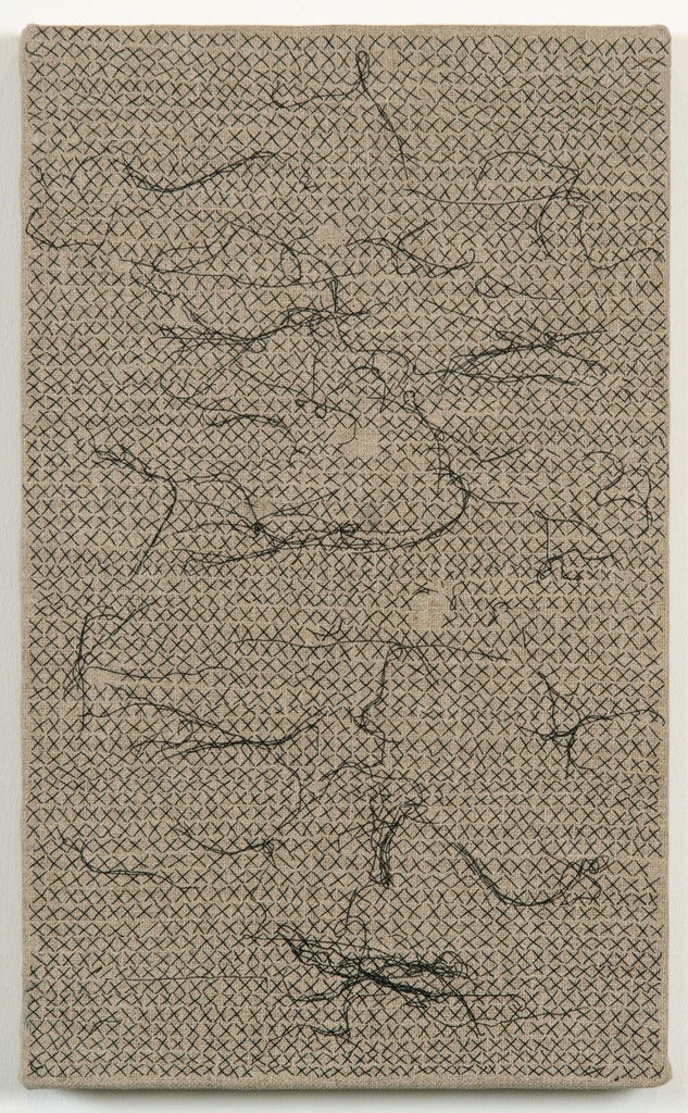 Helene Appel, 'Black Thread Stitches,' 2013, James Cohan