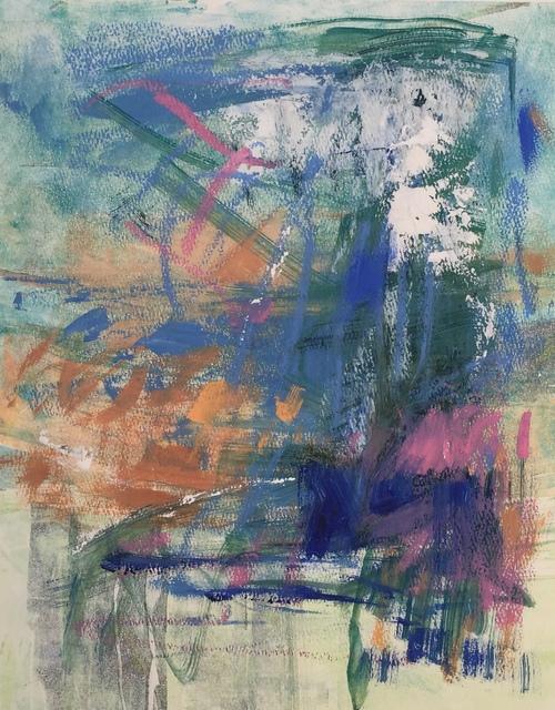 , 'Study in Blue,' 2018, Meyer Vogl Gallery