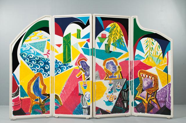 David Hockney, 'Caribbean Tea Time from the series Moving Focus', 1985-87, Skinner