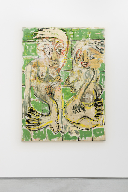 , 'Jigs and reels (green),' 2015, Vigo Gallery