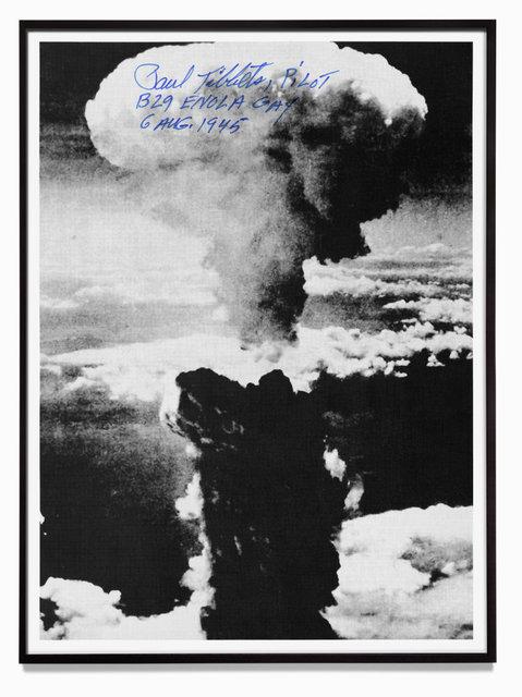 Gert Jan Kocken, 'Paul Tibbets, Pilot, B 29 Enola Gay, Hiroshima, 6 August 1945', 2010, GRIMM