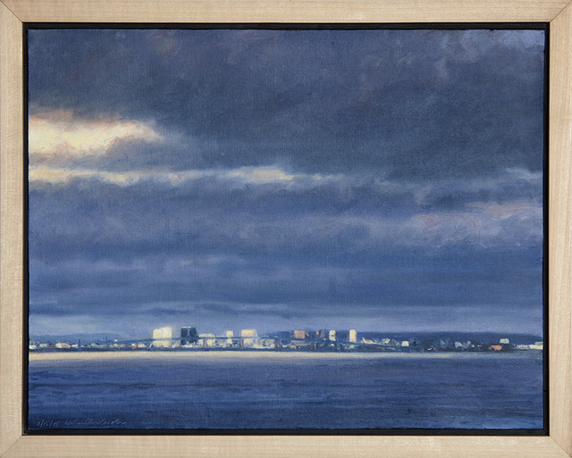 ", '""San Diego Bay"",' 2015, Scott White Contemporary Art"